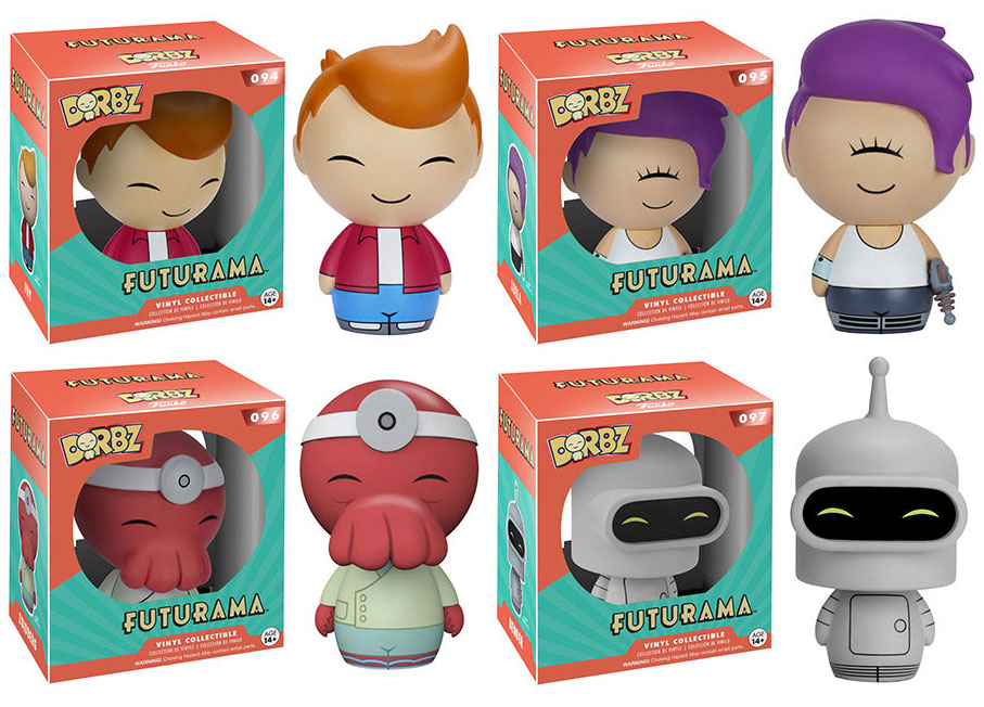 Futurama Pop Vinyls Amp Dorbz From Funko
