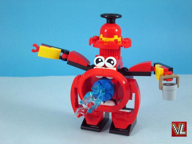 Set LEGO 41563 Splasho Tema: Mixels (Serie 8)