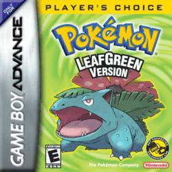 เล่นเกม Pokemon Leaf Green