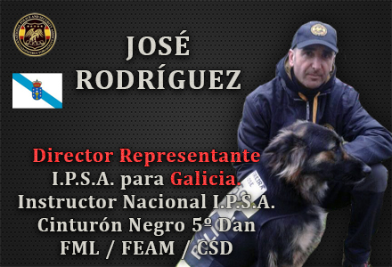 DEGELADO OFICIAL IPSA JOSE RODRIGUEZ LOPEZ GALICIA INTERNATIONAL POLICE AND SECURITY ASSOCIATION
