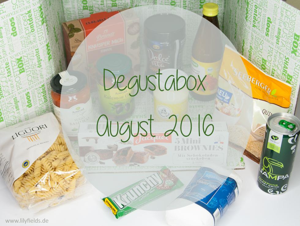Degustabox - August 2016