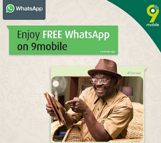9mobile Provides Its Subscribers with Free Whatsapp Chat