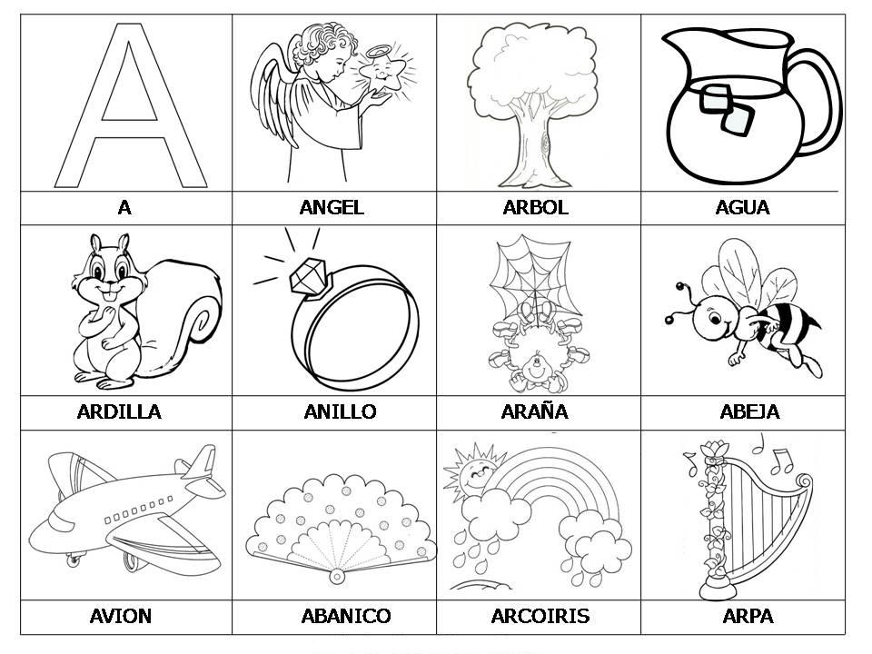 Dibujos Para Colorear Que Empiecen Con La Letra C Imagui