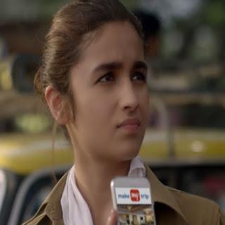 ranveer singh and alia bhatt in make my trip ad