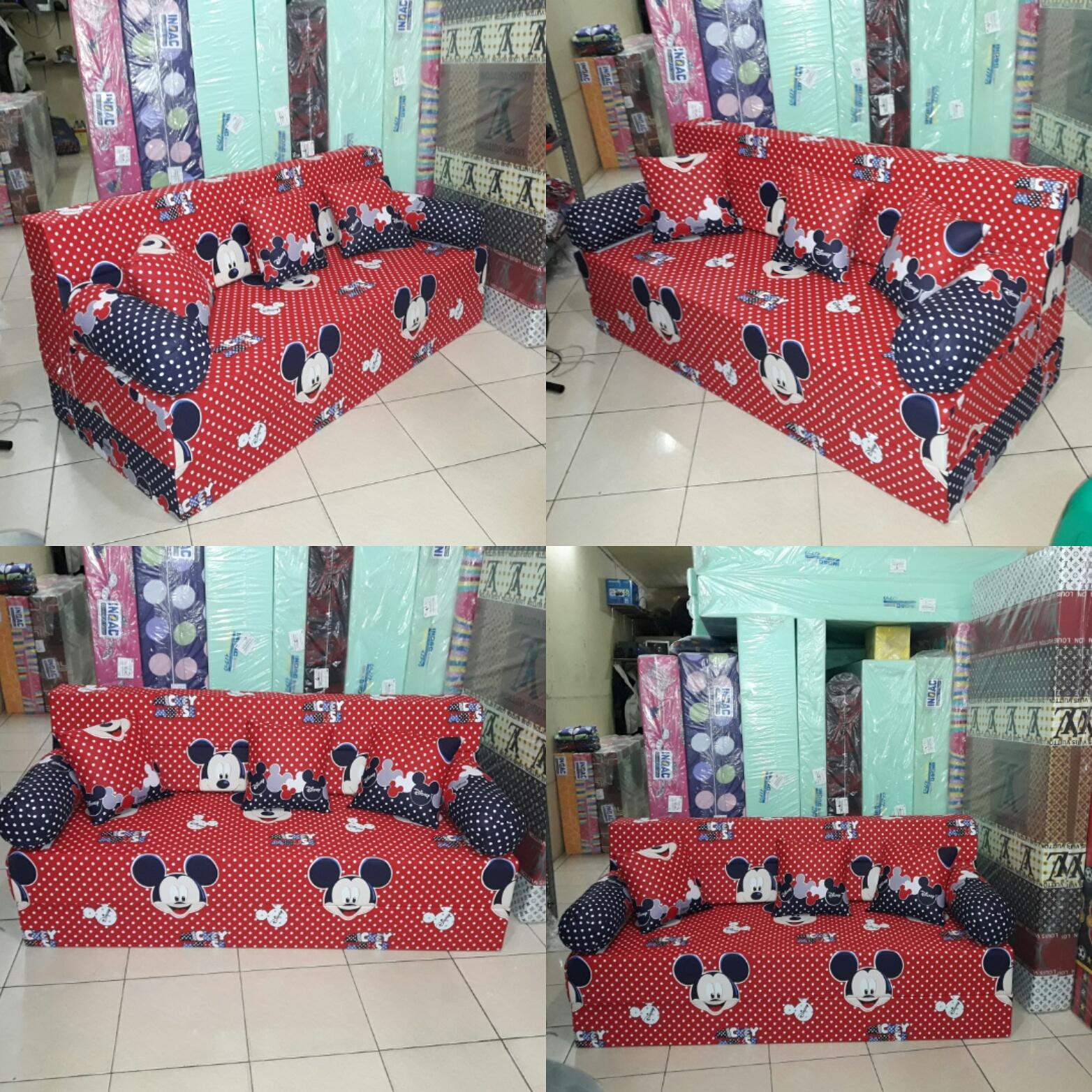 harga cover sofa bed inoac baby couches sofas kasur lipat agen resmi motif terbaru 2016