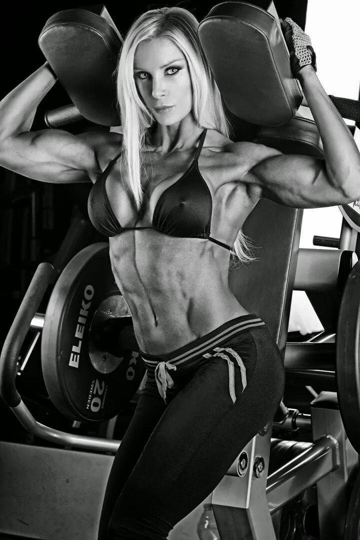 Katalin Jasztrab - Female Fitness Model