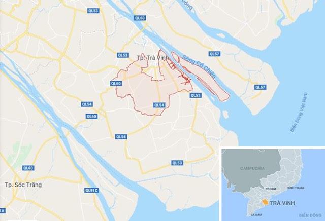 Huyện Châu Thành (Trà Vinh), nơi xảy ra vụ việc