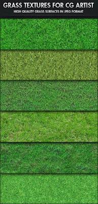 Grass texture maping cho 3dsmax, thư viện cỏ