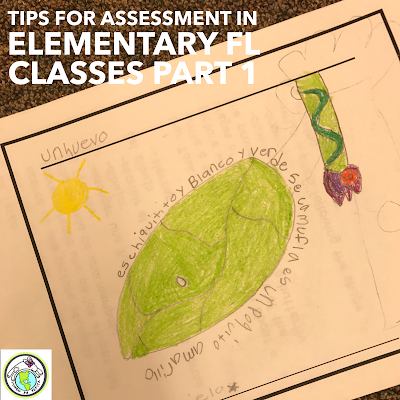 Tips for Assessment in Elementary Foreign Language Classes