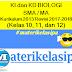 Daftar KI dan KD BIOLOGI SMA/MA Kurikulum 2013 Revisi 2017-2018 Kelas 10, 11, dan 12