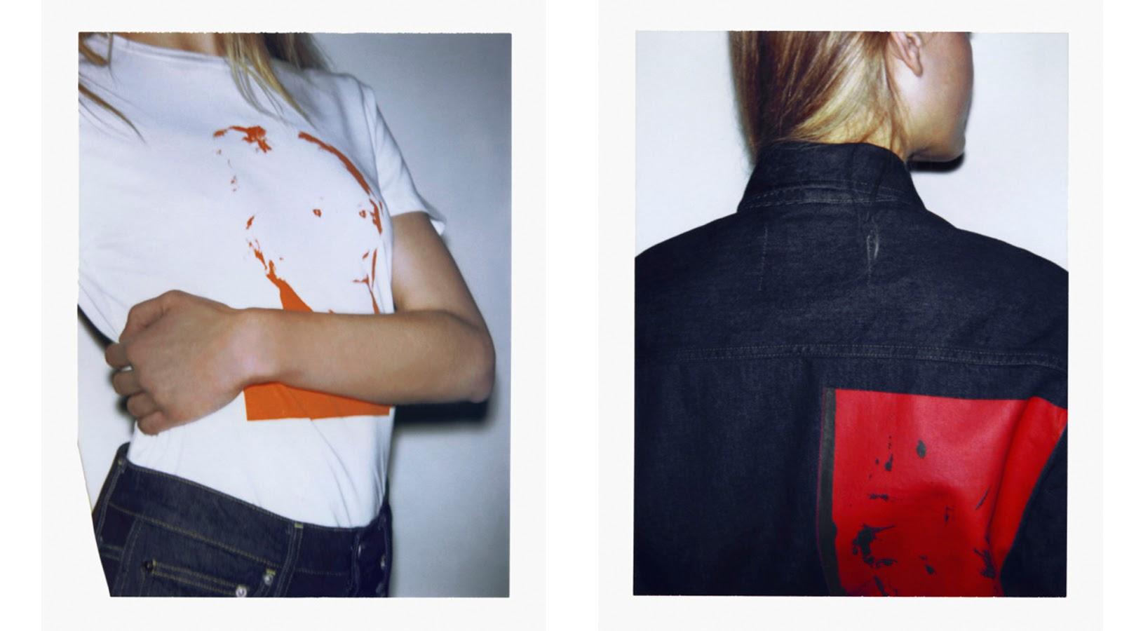 Andy Warhol en ropa calvin klein