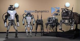 Gambar Robot atlas dengan teknologi canggih