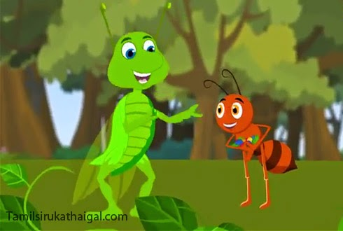 The Ant and the Grasshopper Aesop Moral Story 2