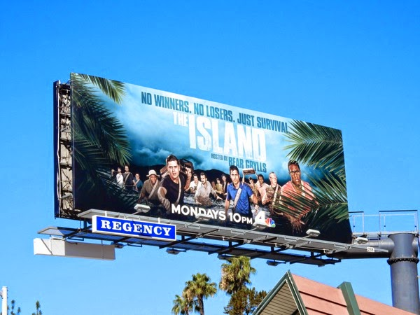 The Island series premiere billboard