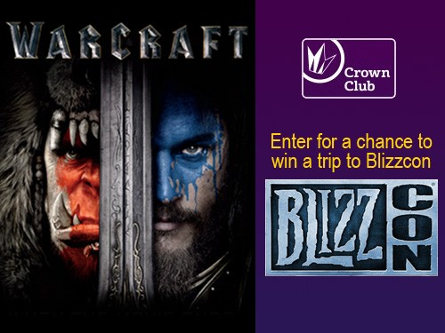 Regal Entertainment Group is giving members of their Regal Crown Club the opportunity to enter to win a trip worth more than $4000, to California to attend BlizzCon 2016!