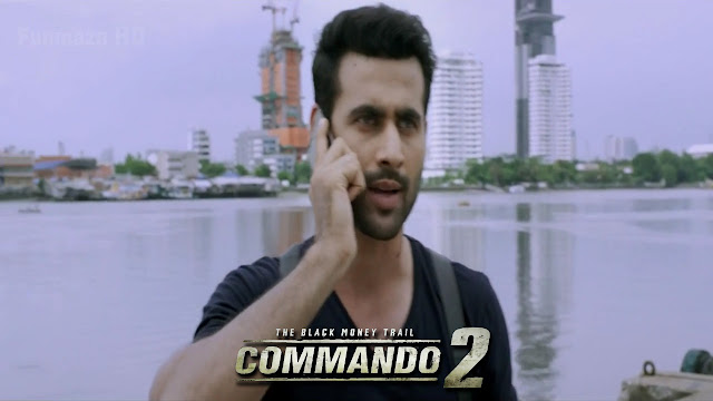 Commando 2 Movie Police Man Strong Men Wallpaper