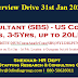 Interview 31 Jan. Senior Consultant (SBS)- US Consumer Analytics, 3-5Yr, 12-20LPA, Pune, (Interview in Gurgaon), Banking/Financial Services/Insurance Job Code: 3CBCITY/20USConsuAnaSrCons(SBS)35Y1220LPUNE/5250024120