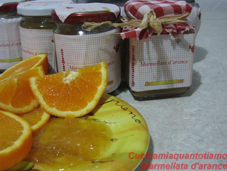 marmellata d arance