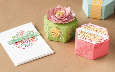 Stampin' Up! 7 Window Box Thinlit Projects + VIDEO Tutorial