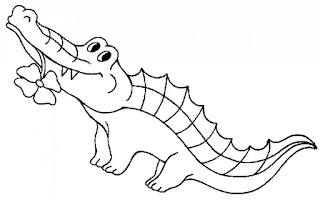 Best Of Crocodile Coloring Sheet