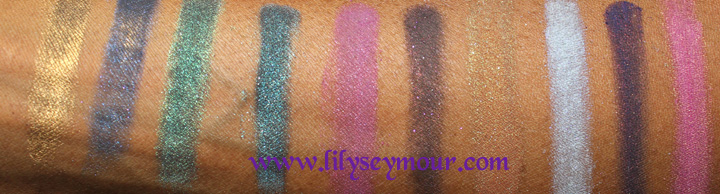 Impulse Cosmetics Loose Eyeshadows