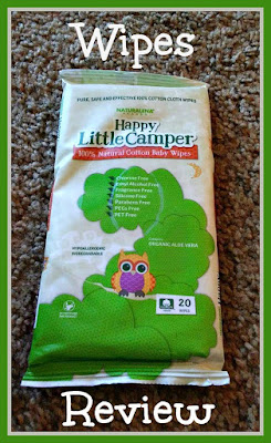 happy little camper wipes