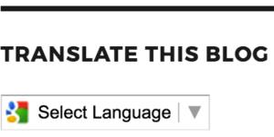 مدونات ووردبريس تدعم ترجمة قوقل الآلية