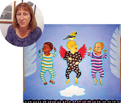 Barbara Ash and her work 'Foreigners' HuesnShades