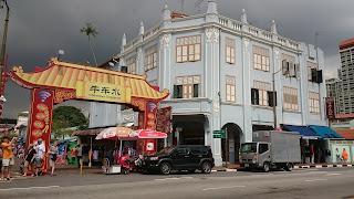 Chinatown Pagoda Street Singapore
