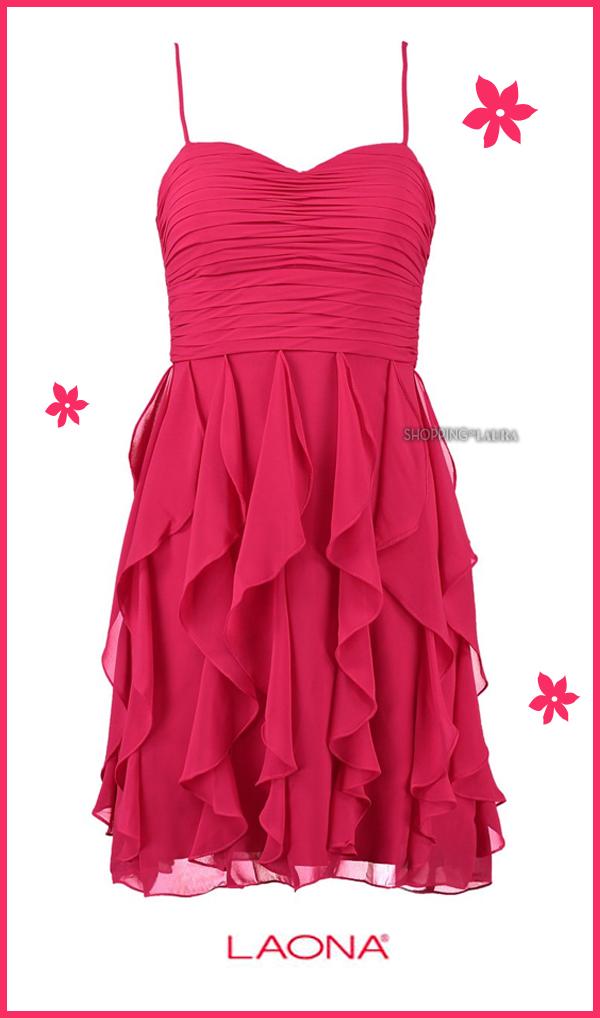 Robe du soir LAONA fushia...pour voir la vie en rose !