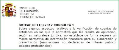 BOICAC 110 Consulta 1 auditoría