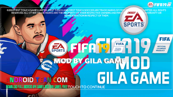 FTS Mod FIFA 19 Full Asian Competition Offline for Android