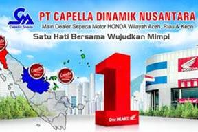 Lowongan Kerja PT. Capella Dinamik Nusantara Pekanbaru September 2018