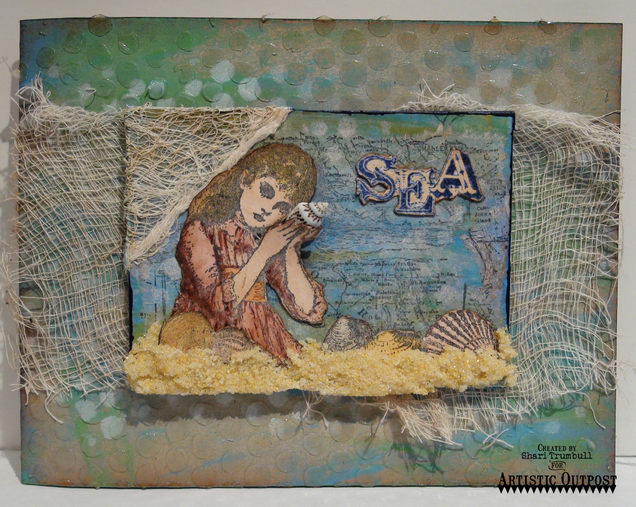 Stamps - Artistic Outpost Sound of the Sea