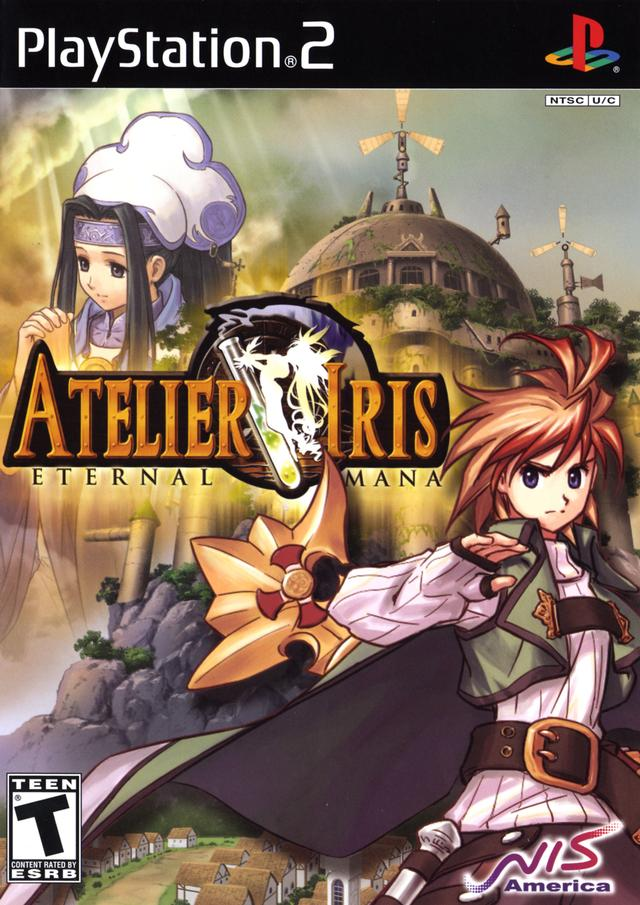 Atelier Iris Eternal Mana NTSC PS2