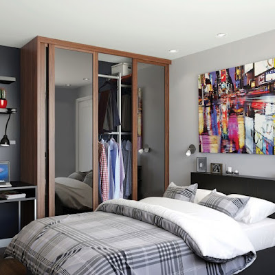 Effective use of Space using Sliding Wardrobes