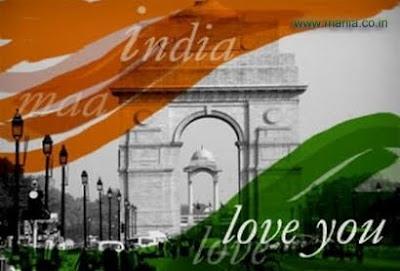 I love India republic day image