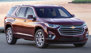 Chevy Traverse Redesign 2019