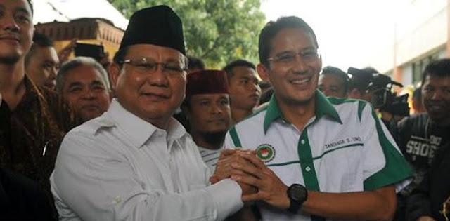 Sandiaga: Justru Prabowo Mengingatkan Indonesia Punya Potensi
