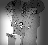 Vesayet rejimini anlatan kukla hükümet veya kukla siyasetçi
