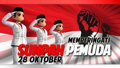 Kumpulan Gambar ucapan SUMPAH PEMUDA 2018/2019 terbaru