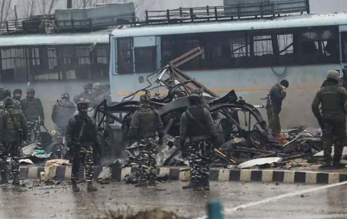 Valentine's Day Massacre: Car Bomb Kills 43 Soldiers, Wounds 20 in Kashmir