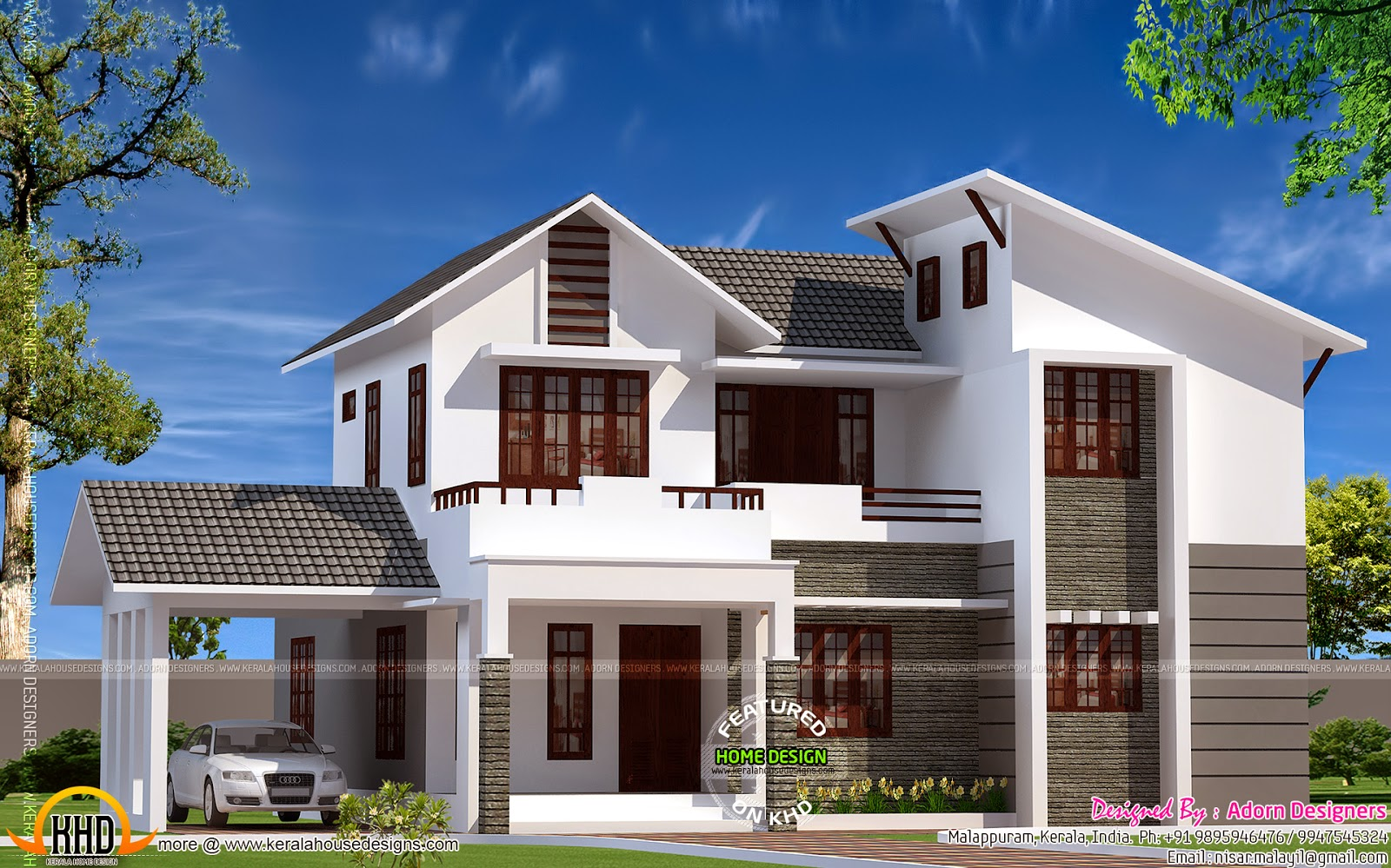 news and article online proposed house in kottayam kerala. Black Bedroom Furniture Sets. Home Design Ideas