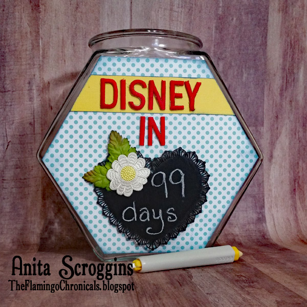 Disney count down jar