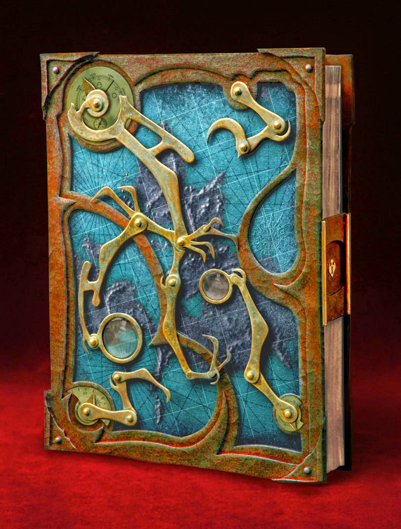 01-Steampunk-Book-Tim-Baker-Intricately-Designed-Book-Covers-www-designstack-co