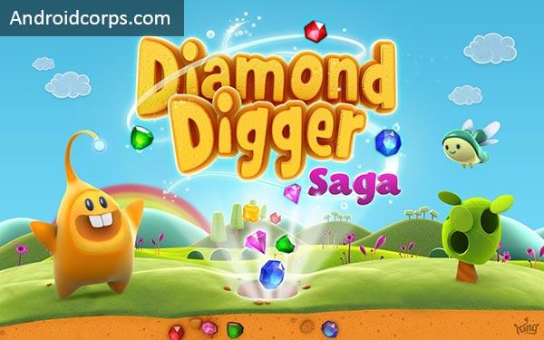 Diamond Digger Saga Mod Apk v 1.35 (Lives/ Boosters/ Moves)