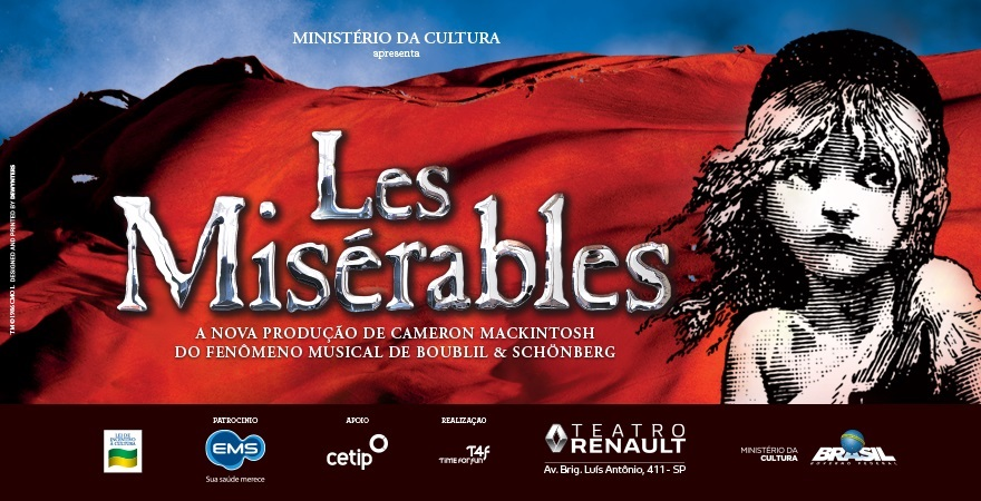 {TEATRO MUSICAL} LES MISÉRABLES