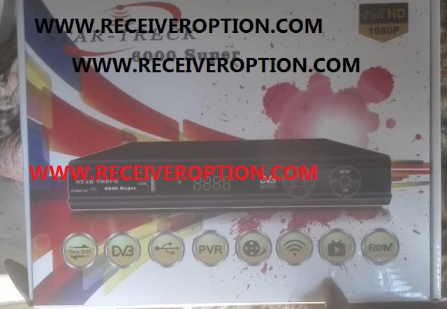 STAR TRECK 6000 SUPER HD RECEIVER POWERVU KEY NEW SOFTWARE