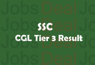 SSC CGL Tier 3 Result 2017