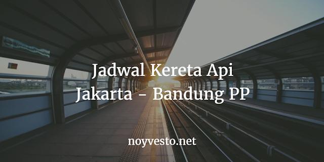 Jadwal Kereta Api Jakarta Bandung